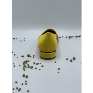 PITONE RIGHE 1-DAIM 554 Geel