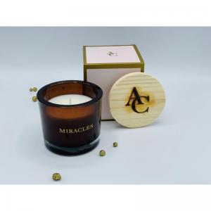 HOME FRAGRANCES CANDLE logo
